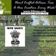 Essence of Assam from 52teas