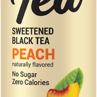 Zevia Organic Sweetened Black Tea Peach from Zevia
