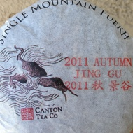 Canton Raw:  Jing Gu 2011 from Canton Tea Co