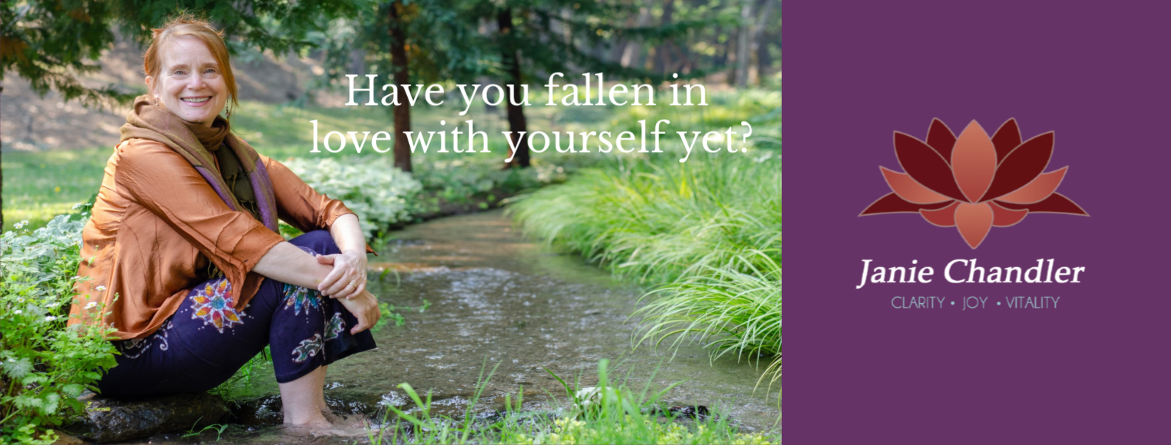 Have you fallen in love with yourself yet?
