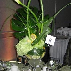 Mariage - Centre de table citronné - $150