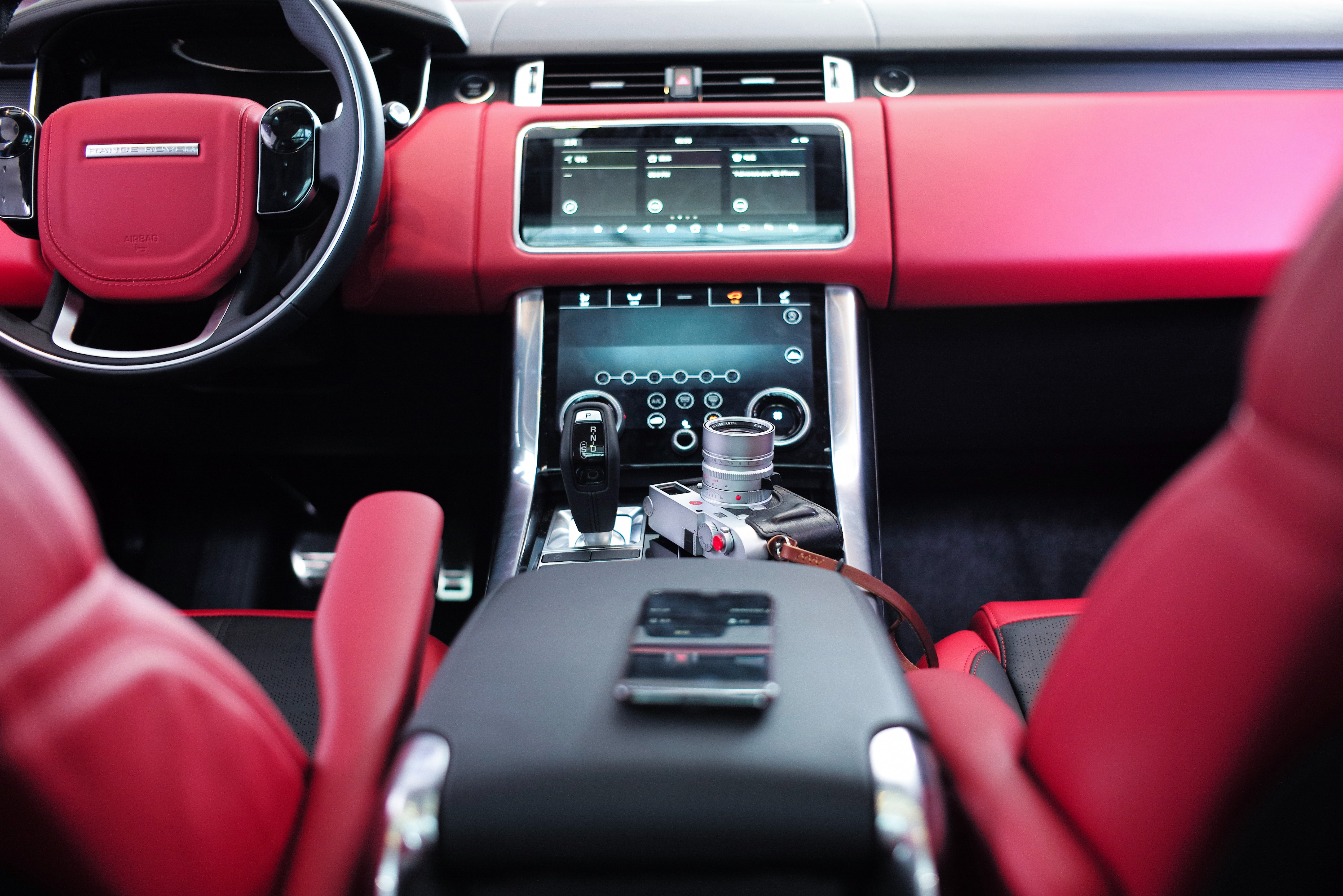 A red car interior - Goal Success Program
