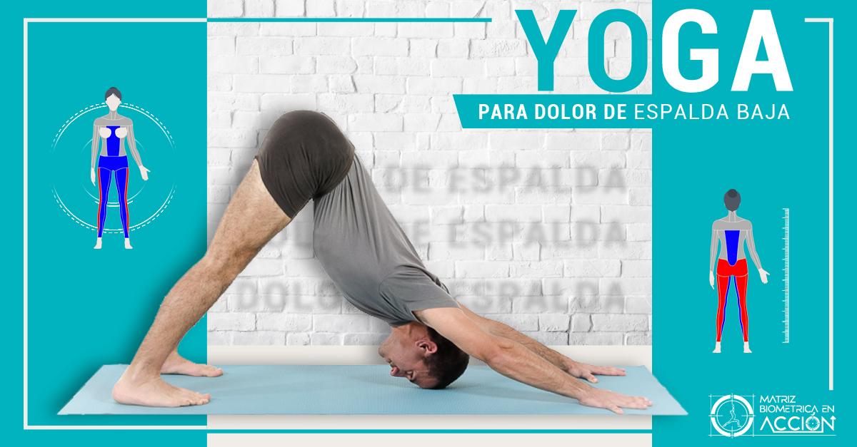 Yoga para el Dolor de espalda Baja