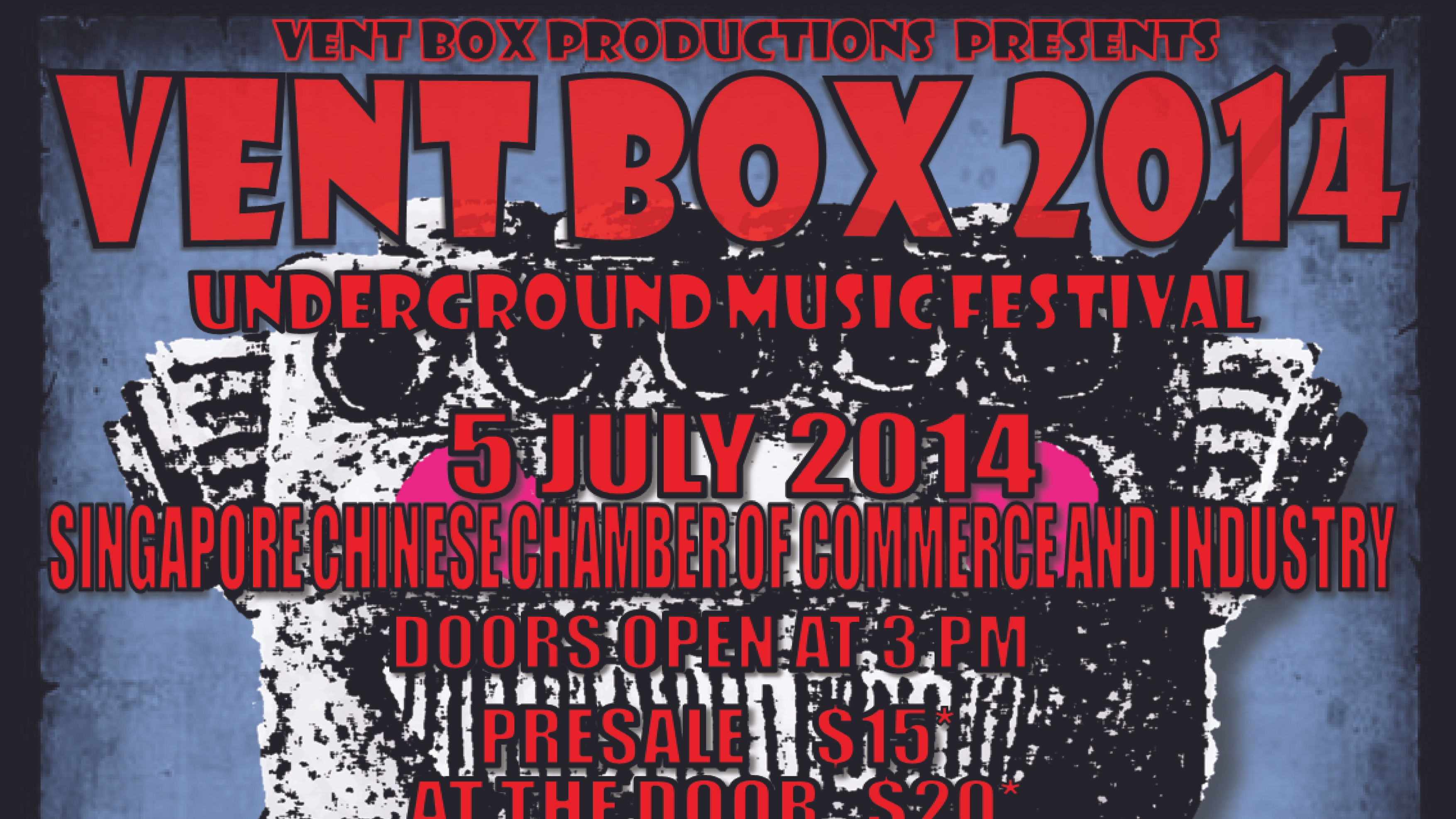 Vent Box 2014 Underground Music Festival