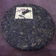 2005 Yunnan Zi Ya Purple Bud Sheng pu'erh Tea from Lao Cang Tea Factory