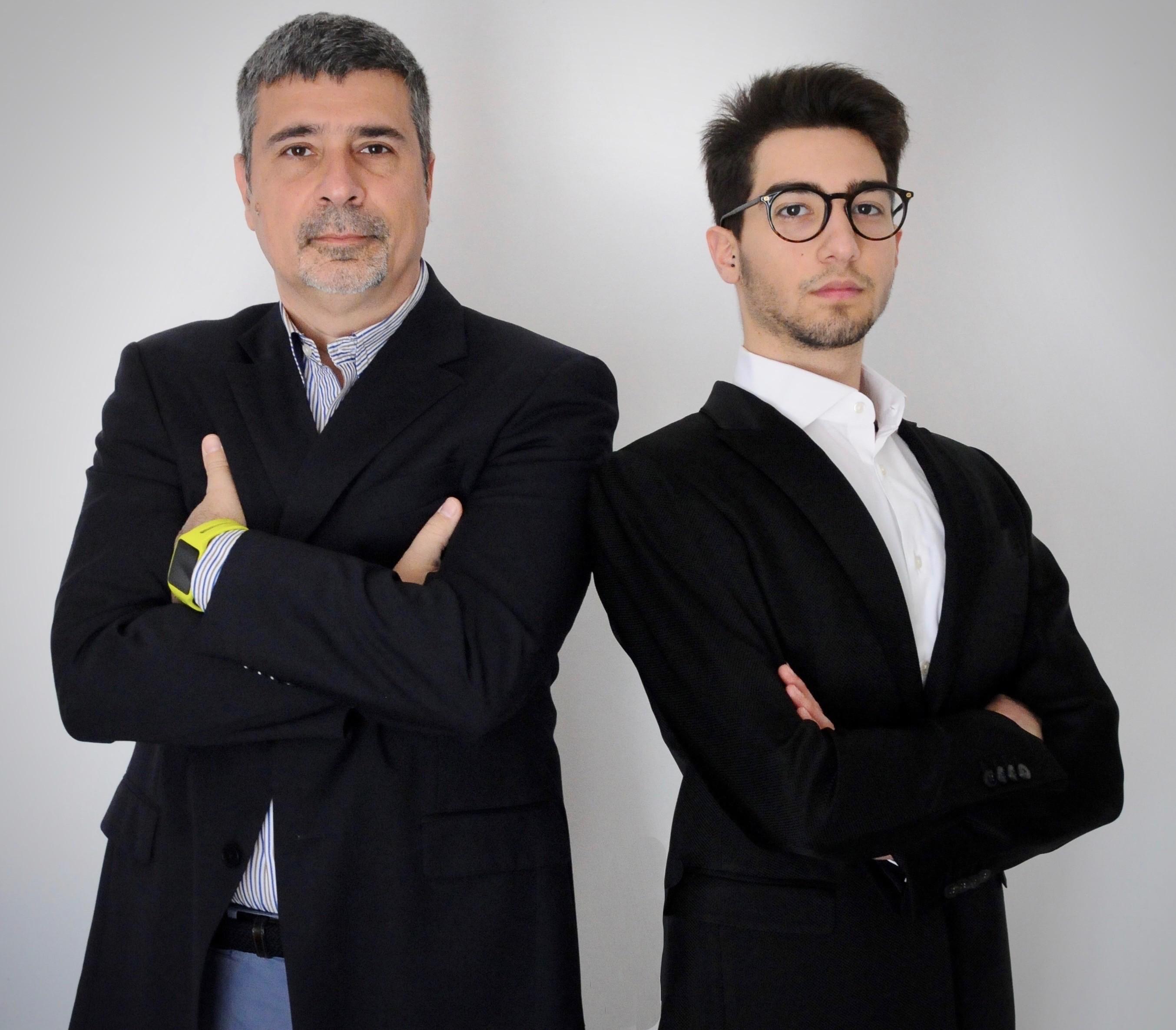 Fabrizio Salvati e Lorenzo Campo