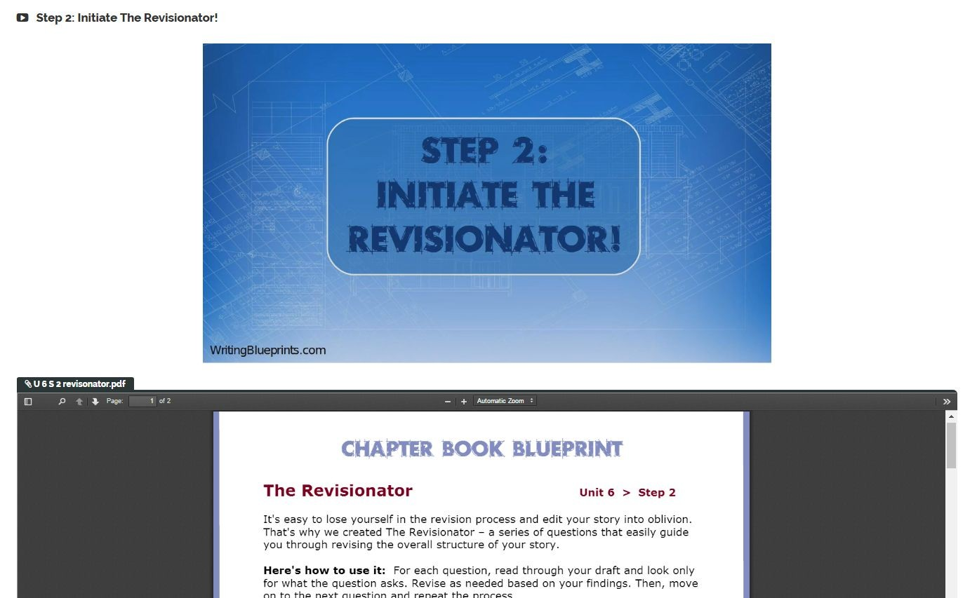 Chapter book blueprint vip power bundle writing blueprints chapter book blueprint includes a step by step self critique and revision system with expert guidance malvernweather Gallery