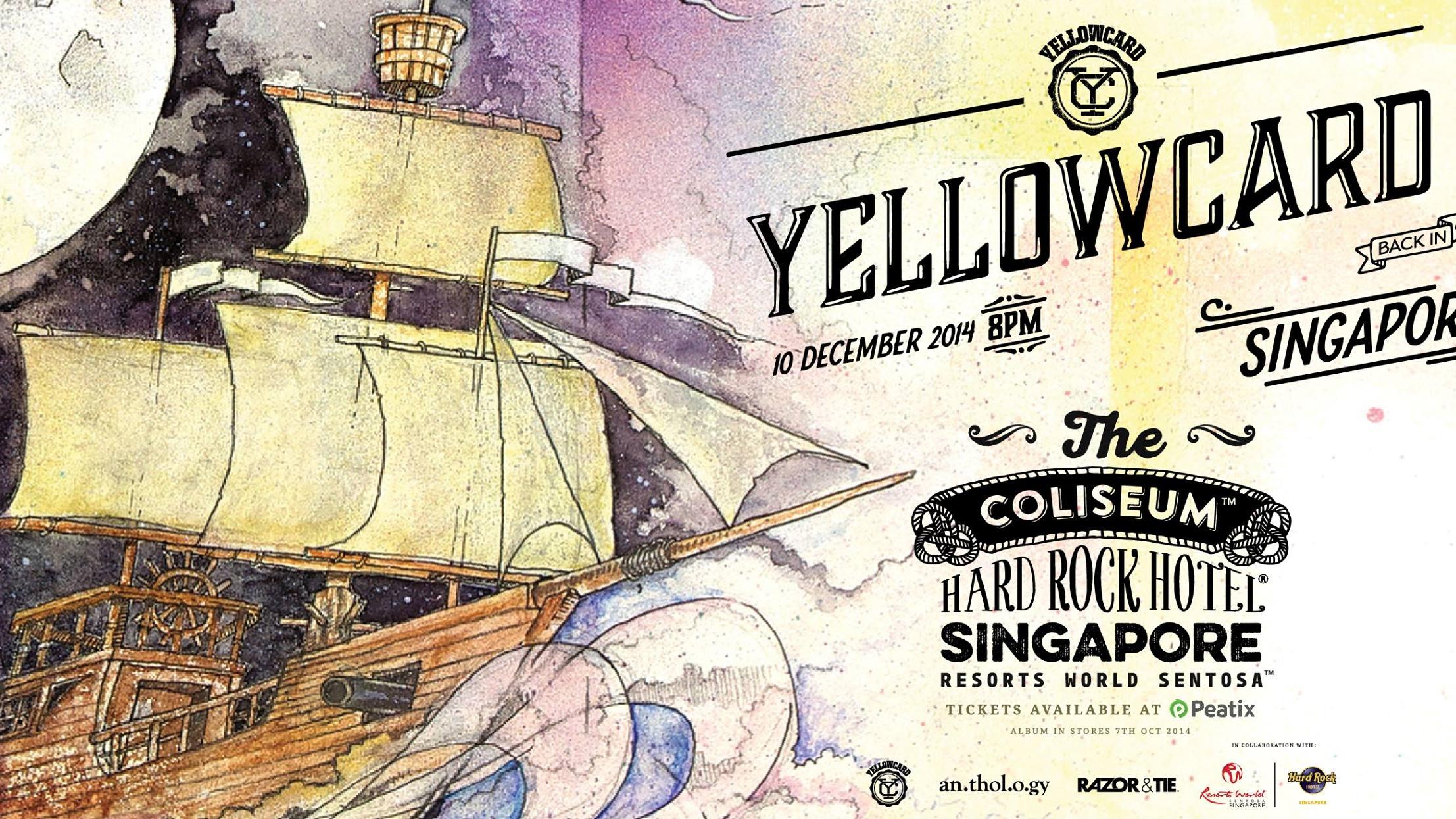 YELLOWCARD - Back in Singapore