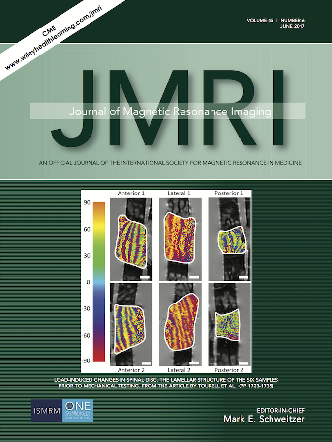 Template for submissions to Journal of Magnetic Resonance Imaging (JMRI)