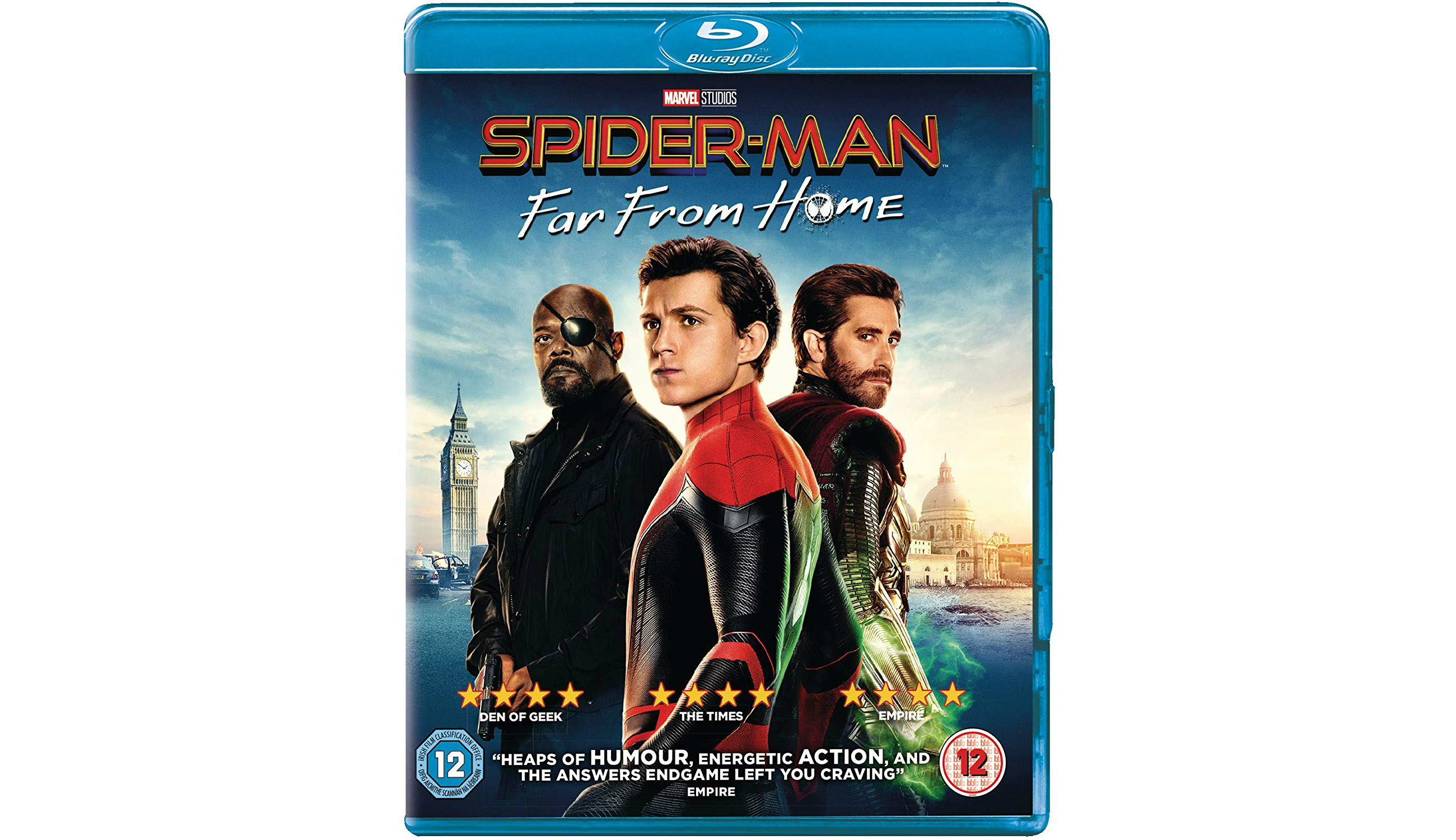 Win Spider-man: Far From Home On Blu-ray™