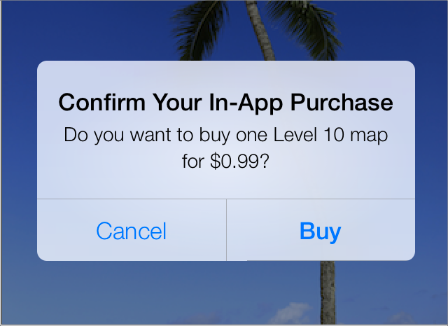 Implementing in-app purchases in your iOS app