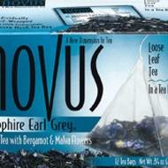 Sapphire Earl Grey from Novus Tea