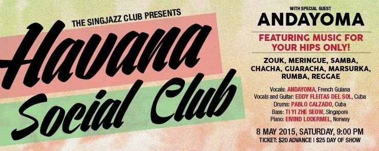 HAVANA SOCIAL CLUB featuring ANDAYOMA