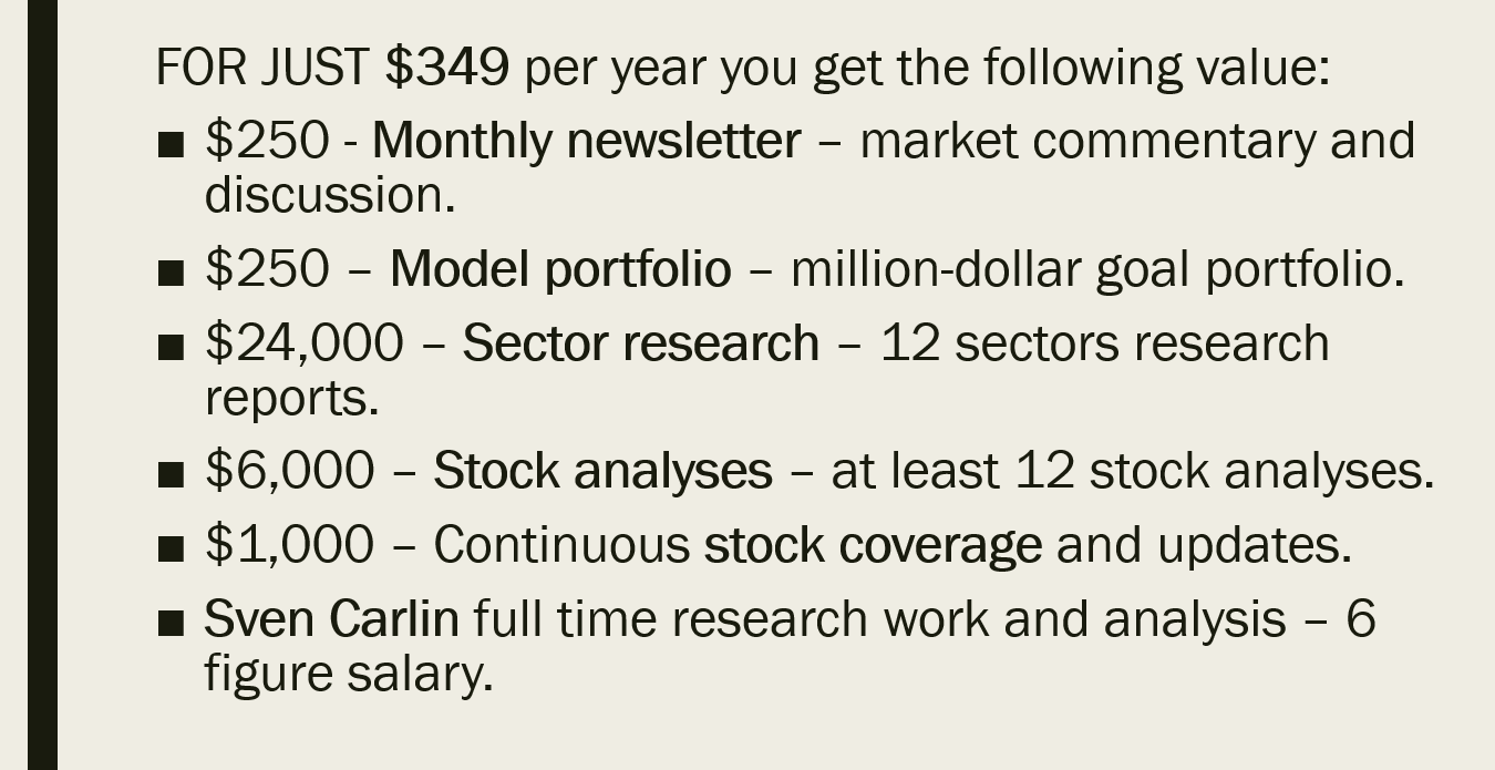 Stock Market Research Platform | Sven Carlin Research Platform