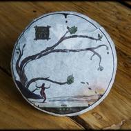 2015 Huron Te Ji Shou Pu-erh cake from Whispering Pines Tea Company