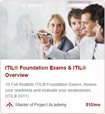 online itil foundation certification training