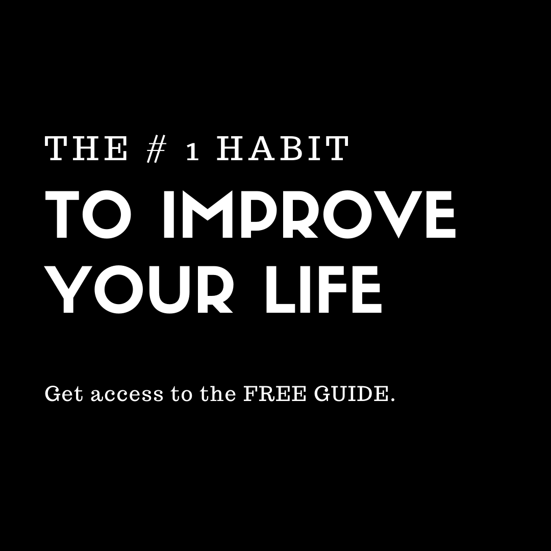 The #1 Habit E-Guide