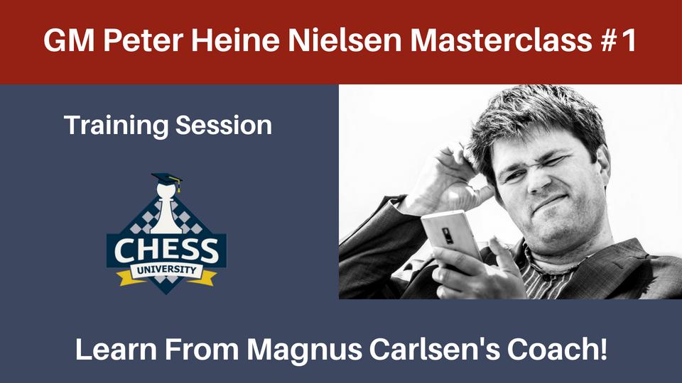 GM Peter Heine Nielsen Masterclass 1   ChessVL com