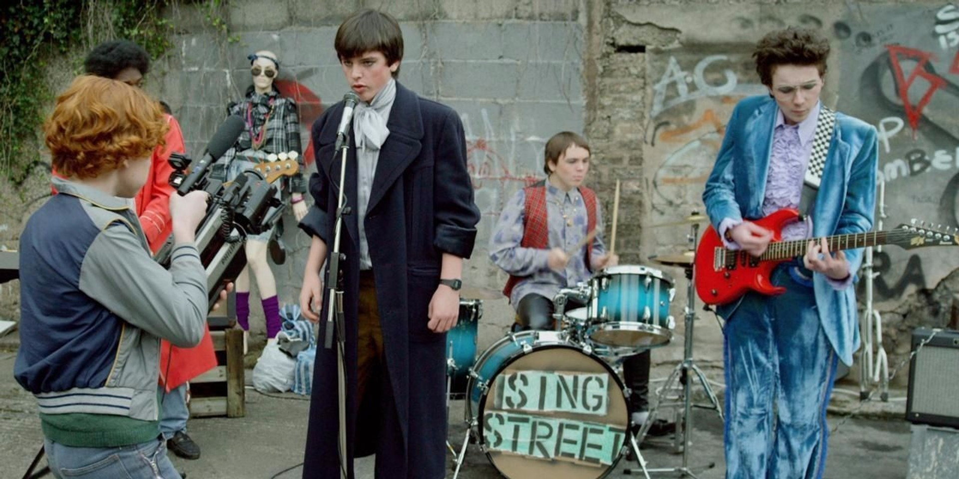 Crowd pleasing and endlessly charming, 'Sing Street' is a great 80s pop song wrapped in film