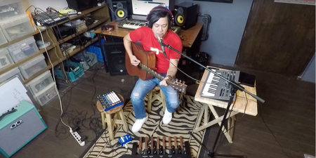 Watch Raymund Marasigan's acoustic take on the Eraserheads classic, 'Fruitcake'