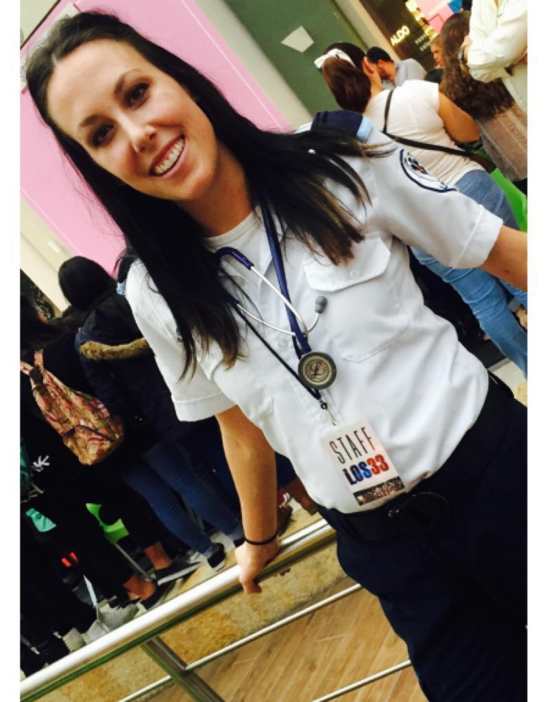 Paramédico Stephanie Chapiro