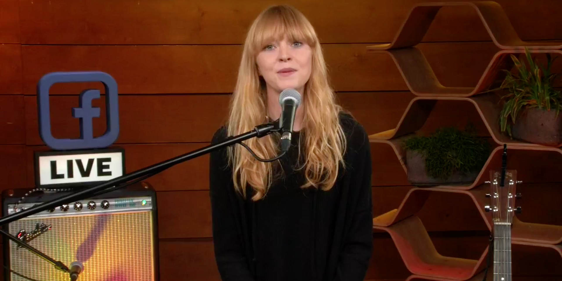Lucy Rose answers fan questions and performs new tracks in Facebook live session – watch