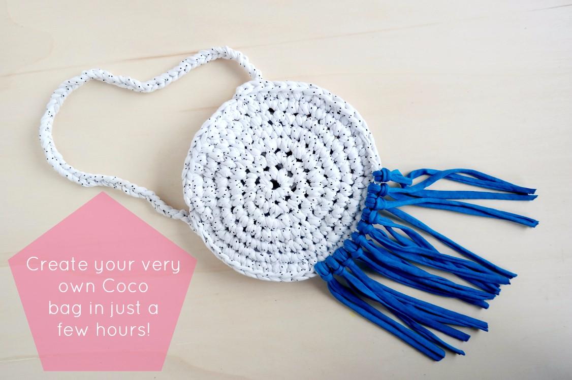 Coco Chunky Crochet Tassel Bag Tutorial | Super Super Crochet School