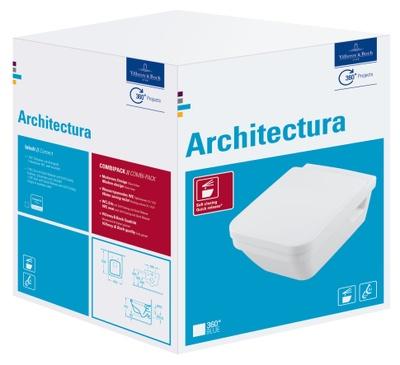 Architectura Veggskål, med sete