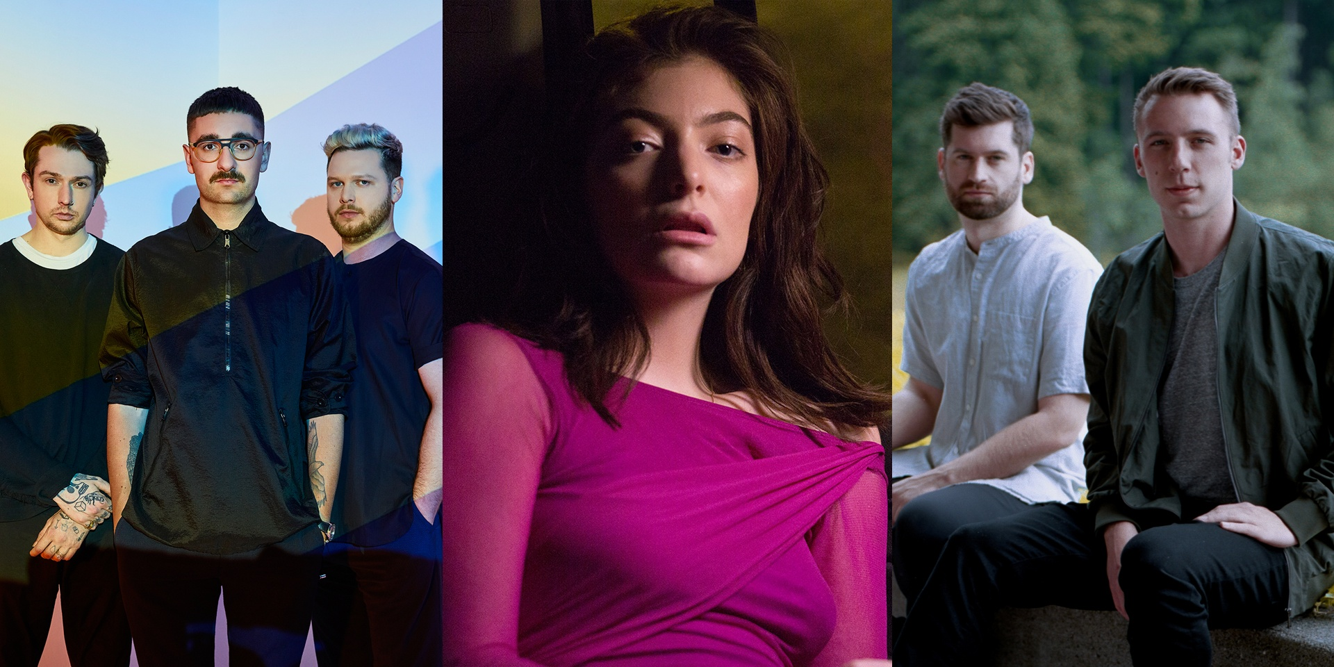 Lorde, alt-J and Odesza lead the international acts in We The Fest's phase 1 line-up announcement