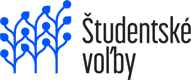 Logo - Študentské voľby