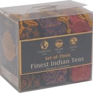 Indian Trio - Darjeeling , Assam & Nilgiri - Brocade Bag by Golden Tips Tea from Golden Tips Teas