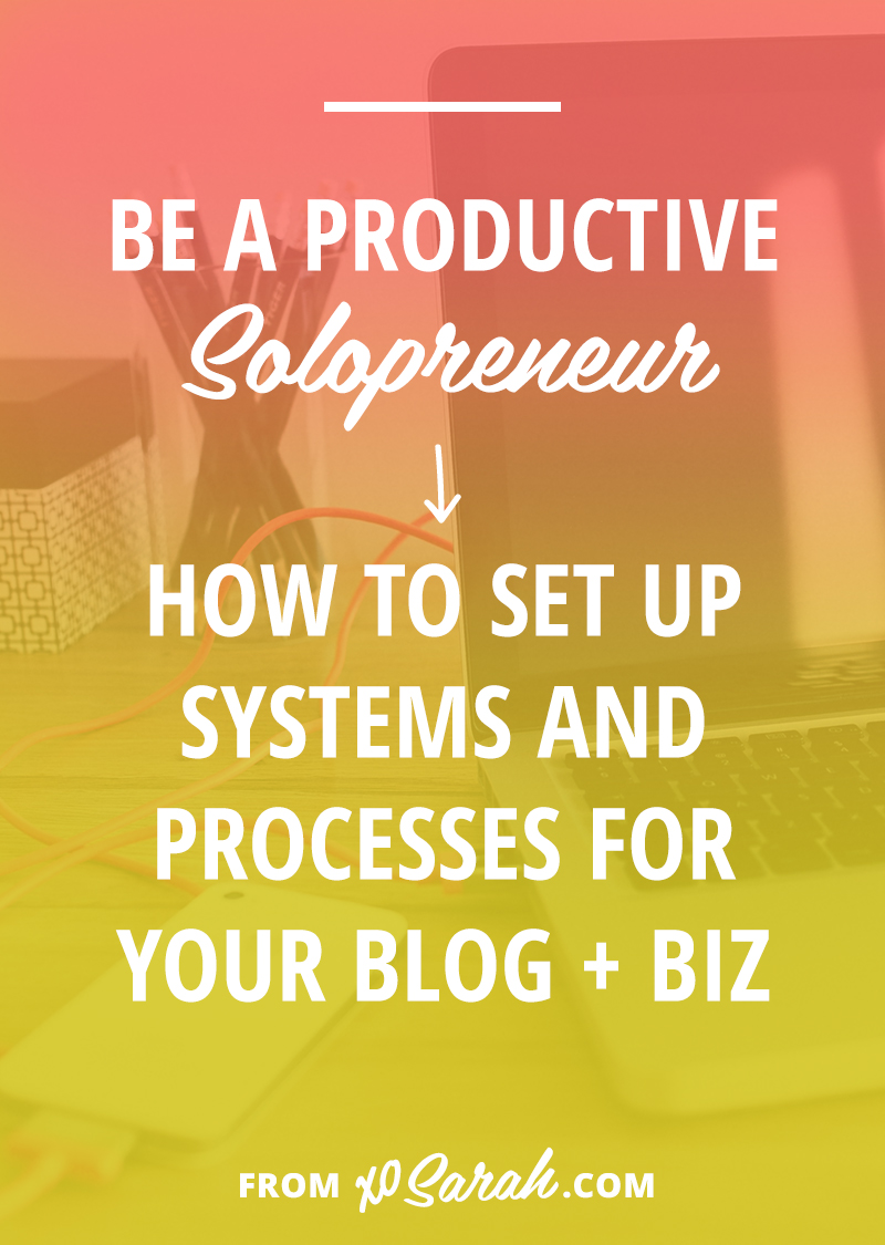 Wondering how some bloggers and small business owners seem to get so much done?? Learn the best productivity tips and how to set up systems and process so you can stay focused and knock out your to-do list like a pro!.