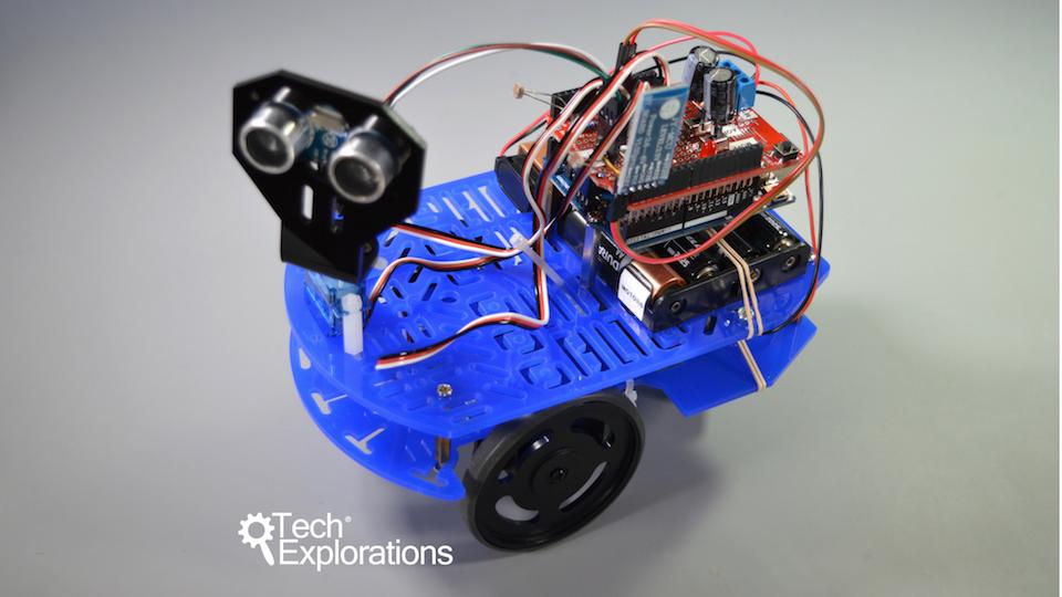 Make an arduino robot stackskills