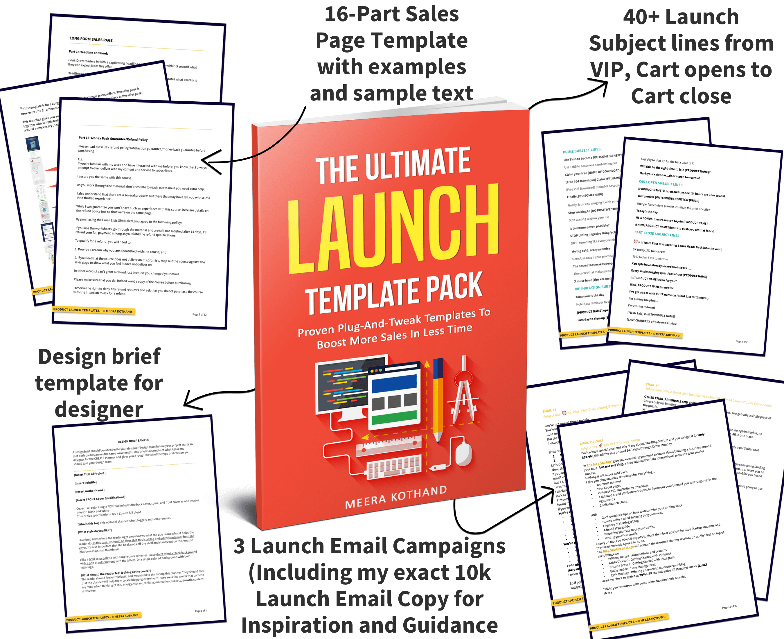Product Launch Template Pack Meerakothand