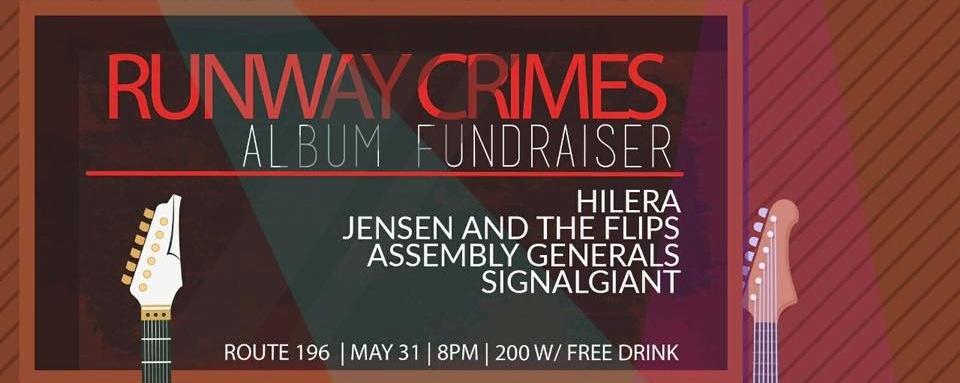 Runway Crimes Album Fundraiser II