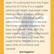 Bananas Foster from Handmade Tea