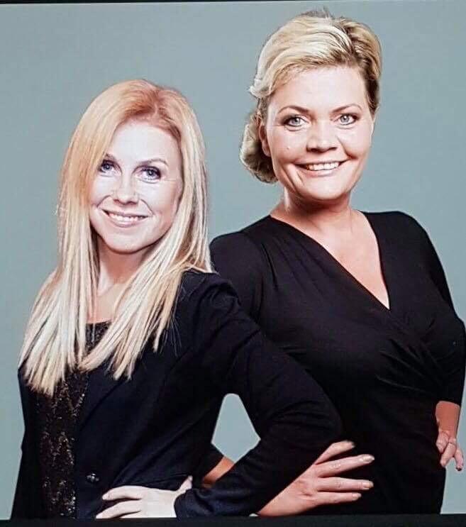 Cathrin Nilsson och Annalena Lindroos