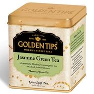 Jasmine Green Full leaf Tea Tin Can By Golden Tips Tea from Golden Tips Tea
