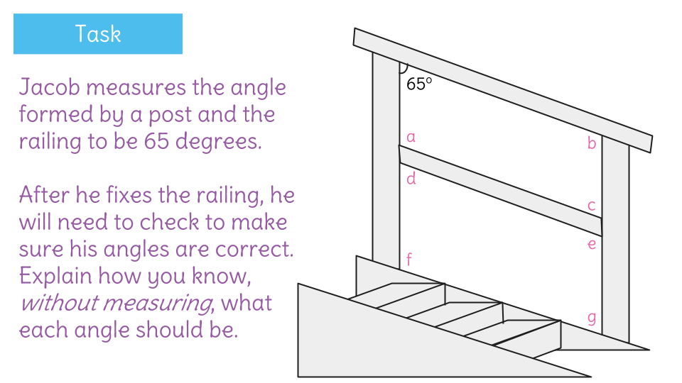 Recognize supplementary angles formed by parallel lines cut by a – Parallel Lines Cut by a Transversal Worksheet
