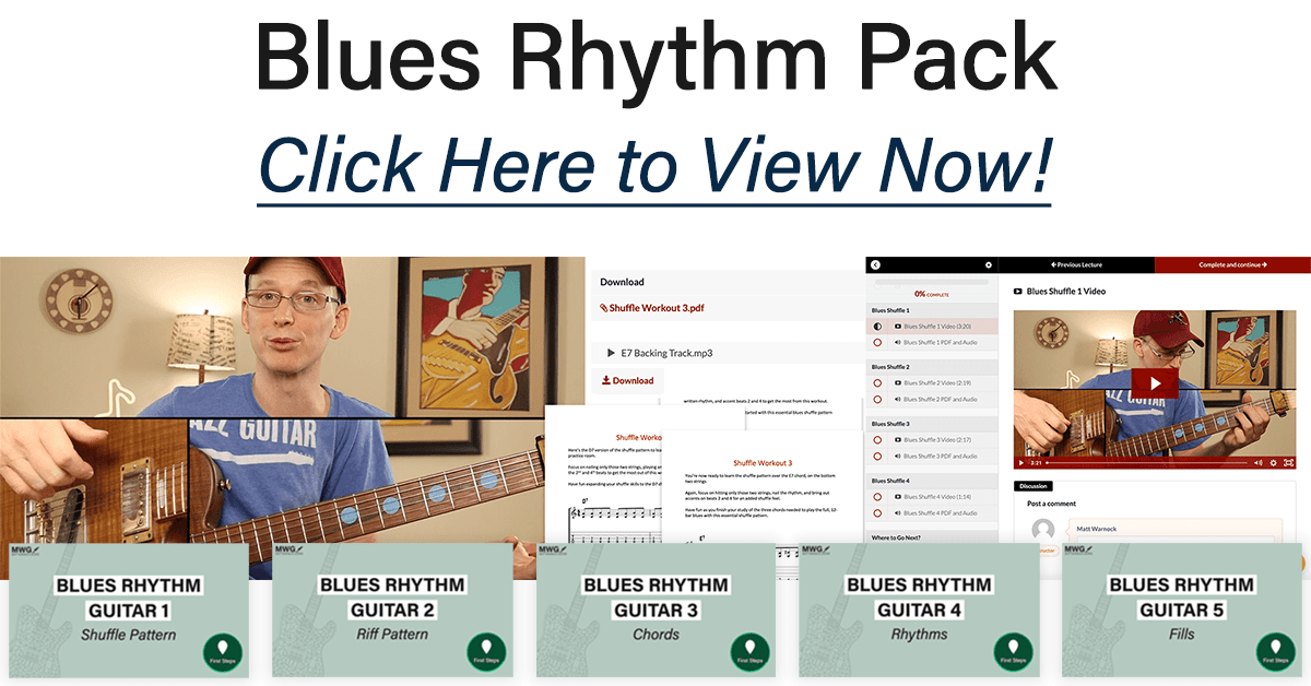 Blues Rhythm Guitar Pack