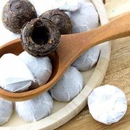 Pu-Erh Tuo Cha Bird's Nest Tea Ball Cakes from Solstice Tea Traders