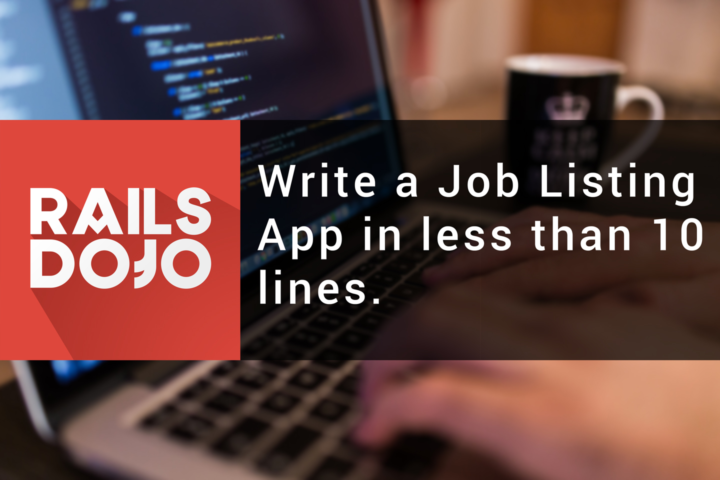 Build a Job Listing App in Less than 10 lines