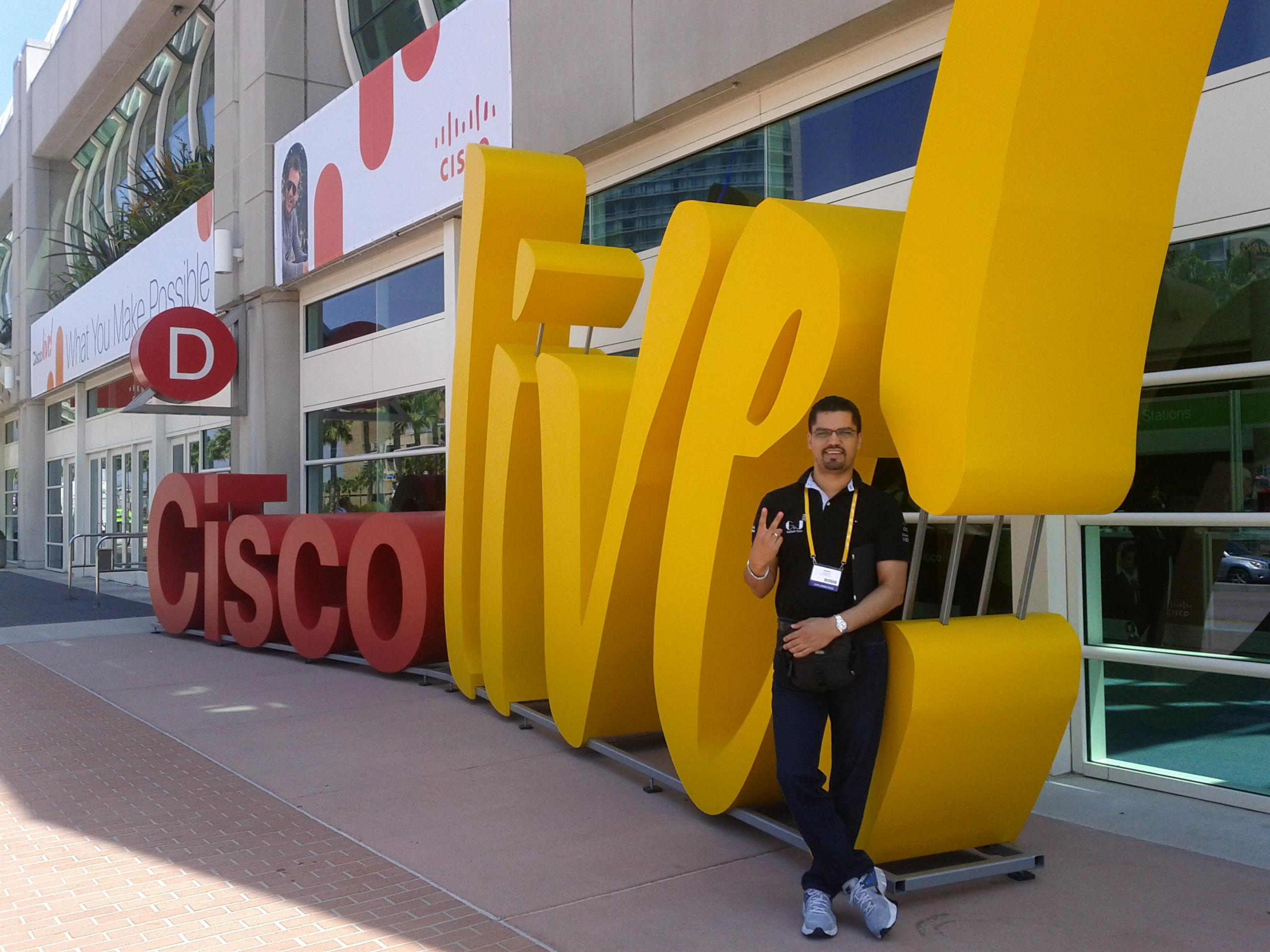 Jesus Espinoza - Cisco Live 2012 USA