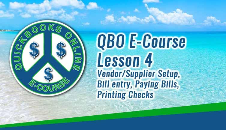 Vendor/Supplier Setup, Bill entry, Paying bills,Printing checks