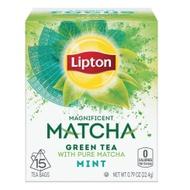 Matcha Green Tea and Mint from Lipton