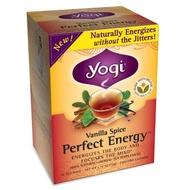 Vanilla Spice Perfect Energy from Yogi Tea