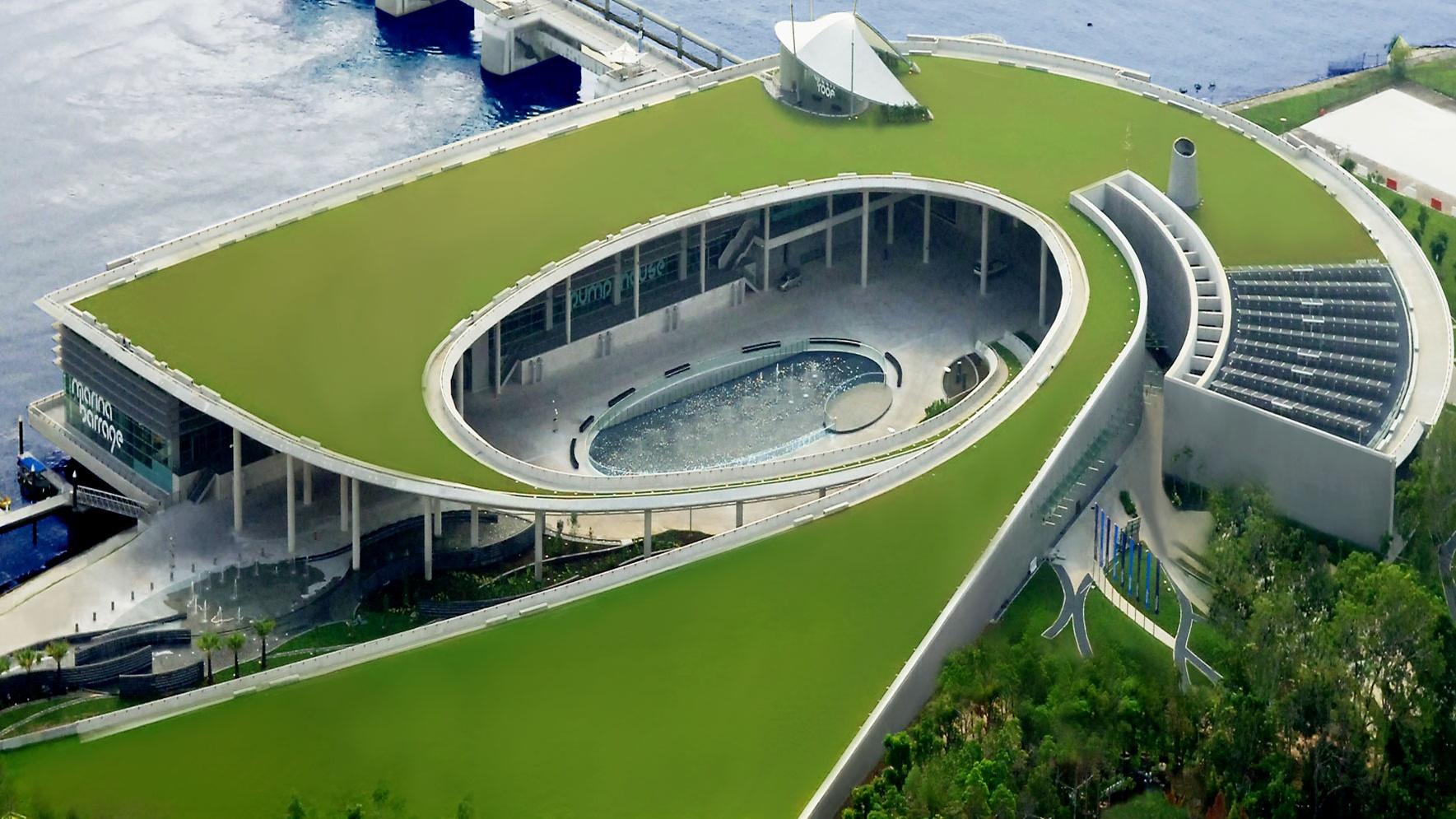 Image result for Marina Barrage