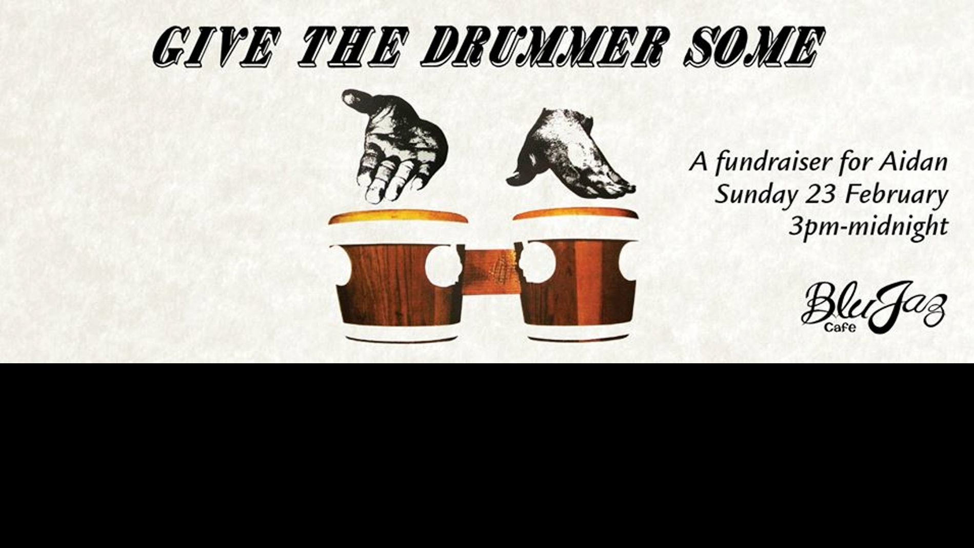 Give The Drummer Some - A Fundraiser