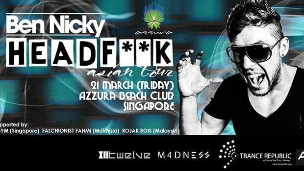 Ben Nicky Headf**k Asian Tour