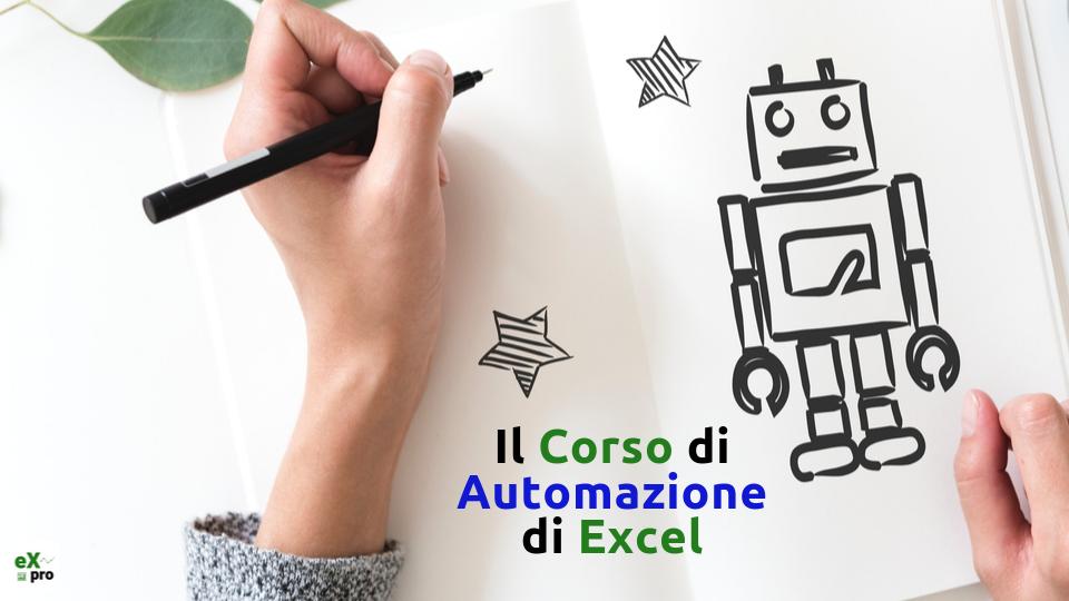 Corso Excel di Automazione